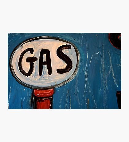It's a Gas! Photographic Print