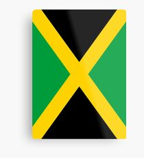 Jamaica Flag Metal Print