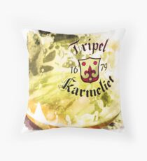 Tripel Karmeliet Throw Pillow
