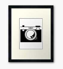 Camera - Because Cameras are Cool Framed Print
