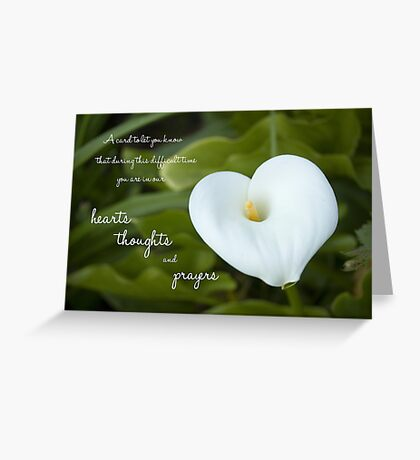 In Our Hearts Greeting Card