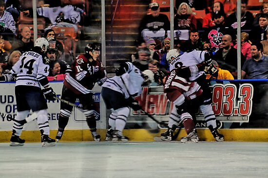 Scramble For The Puck by Sonja Dover