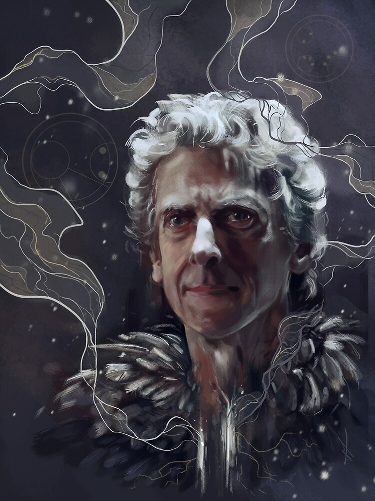 Twelfth Doctorfeathers And Snow Postcard By Laurelhach Redbubble