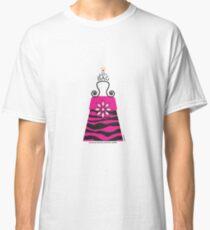 The Katy Bag / Black & Fuchsia Fantasy Zebra Classic T-Shirt