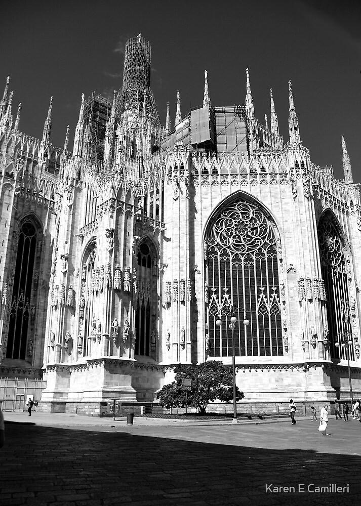 Milan Cathedral by Karen E Camilleri