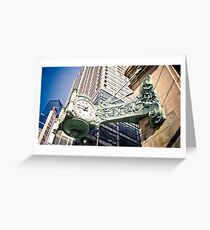 The Old Marshall Field's Building Greeting Card