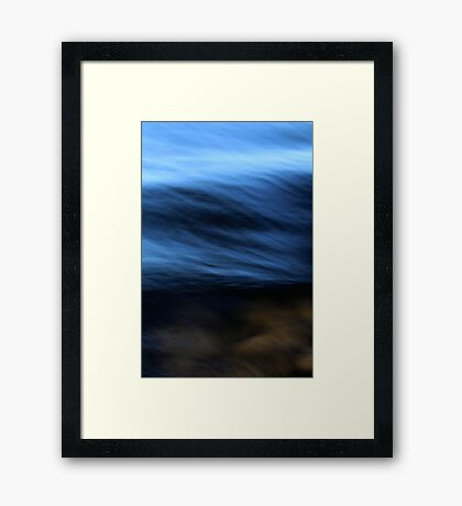 Go with It Framed Print
