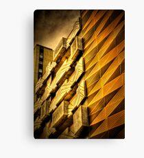 Modern Melbourne Building Shapes Canvas Print