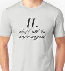 Second Amendment Simple Unisex T-Shirt