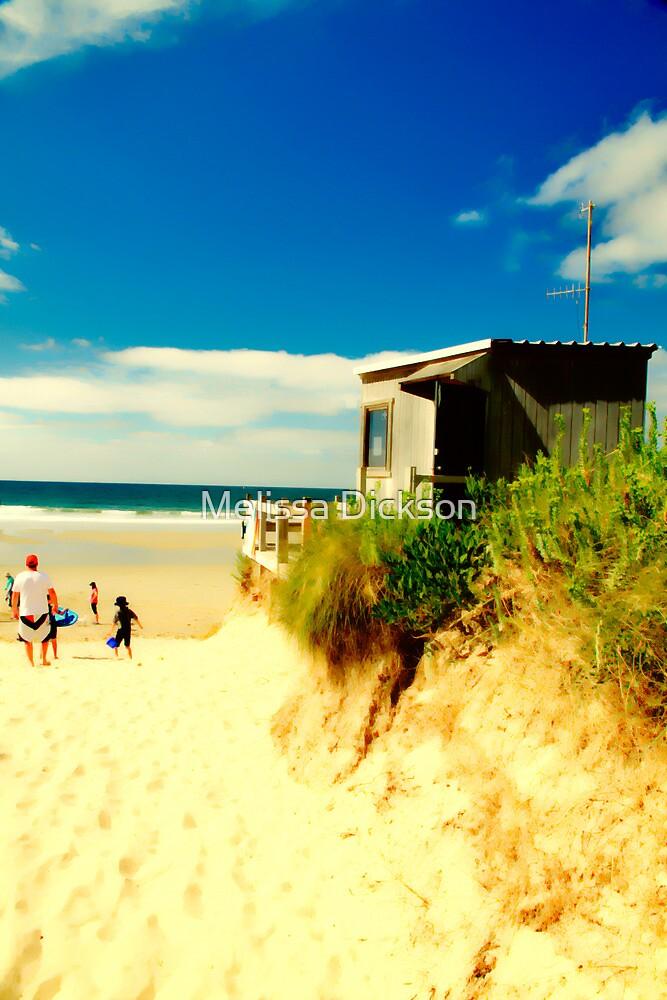 A day on the beach by Melissa Dickson