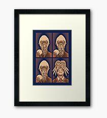 Ood One Out - Dalek Framed Print