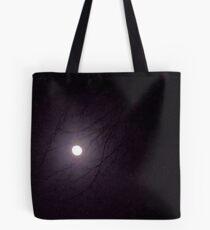 Moonlight through the Trees Tote Bag