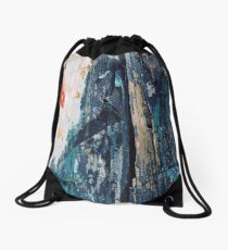 Shredded Drawstring Bag