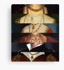 Six Wives of Henry VIII Canvas Print