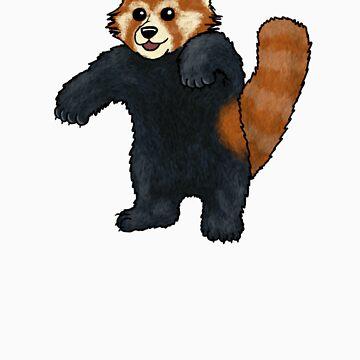 Red Panda standing by TheRandomFactor