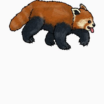 Red Panda walking by TheRandomFactor