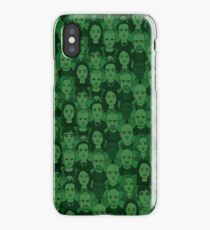 Breaking Bad Characters - Dark Green iPhone Case/Skin