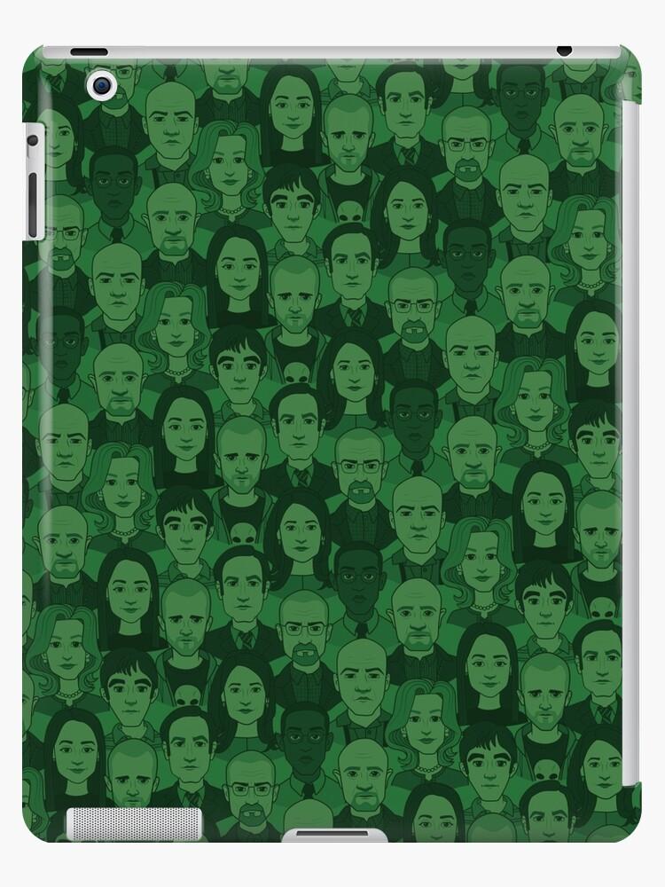 Breaking Bad Characters - Dark Green by Kelly Street