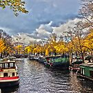 Amsterdam Prinsengracht HDR by Fyrion