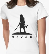 River Women's Fitted T-Shirt