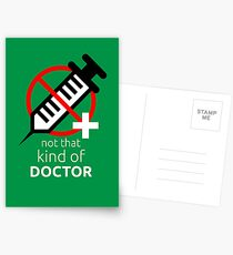 Not that kind of doctor (PhD) Postcards