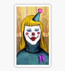 Cupcakes the clown Sticker