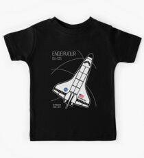 Raumfähre Endeavour Kinder T-Shirt