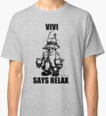 Vivi Says Relax - Transparent Classic T-Shirt