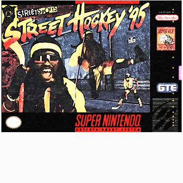 Street Hockey 95 - Super Nintendo by edwoods1987