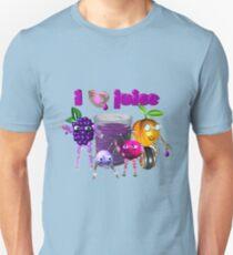 I Heart Love Juice Unisex T-Shirt
