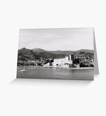 Collioure, France Greeting Card