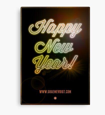 Happy New Year! Canvas Print