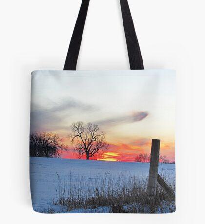 December Dusk Tote Bag