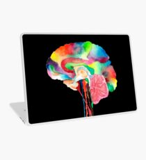 Colorful Brain Laptop Skin