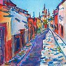 San Miguel de Allende by Yevgenia Watts