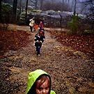 Rainy Day New Year's Walk by Richard Sims