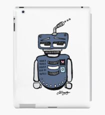 Sad Robot iPad Case/Skin