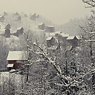 A White Christmas In the Blue Ridge Mountain by RedElephantPic