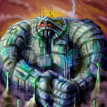 Giant Robot by MBJonly