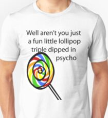Lollipop Psycho Unisex T-Shirt