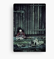 old doll Canvas Print