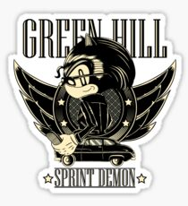 Green Hill Sprint Demon - Prints, Stickers, iPhone and iPad Cases Sticker
