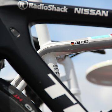 Jens Voigt's Bike - Tour de France 2012 by MelTho