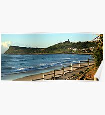 Seven Mile Beach - Lennox Head NSW Poster