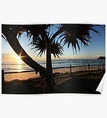 Sunrise Seven Mile Beach - Lennox Head NSW Poster