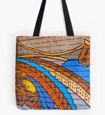Modern Twisted Tote Bag