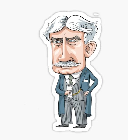 Sir Robert Borden, Prime Minister of Canada, 1911-1920 Sticker