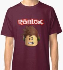 Roblox Character Head Classic T-Shirt