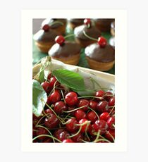 Cherry bonbon Art Print