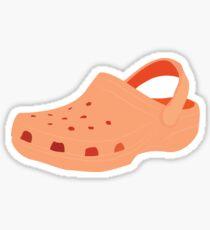 Orange Croc Sticker